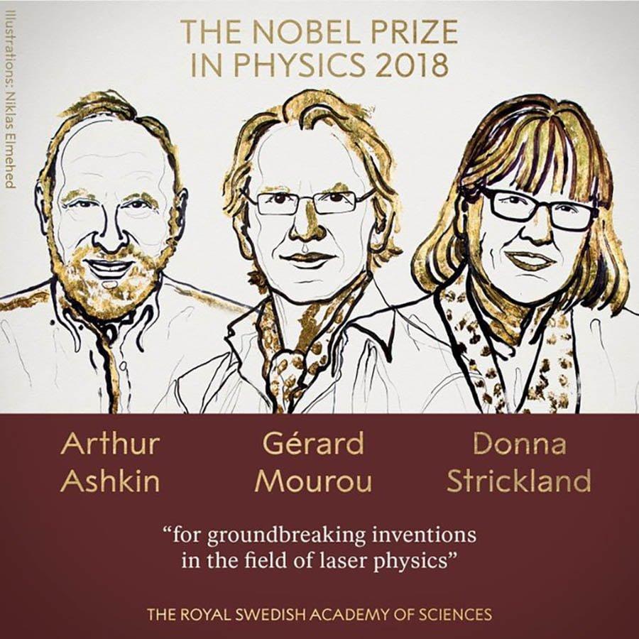 Giải thưởng Nobel năm 2018 4