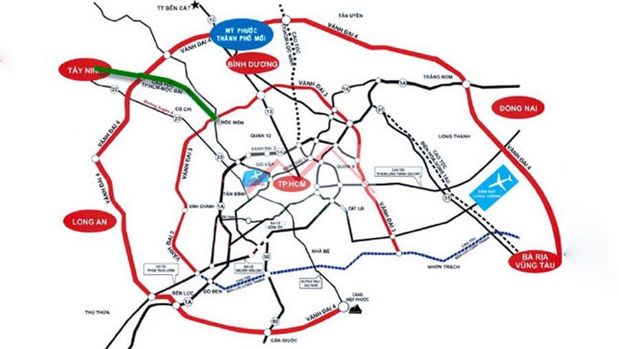 Five Star Eco City hưởng lợi từ hạ tầng giao thông Cần Giuộc - Long An 5