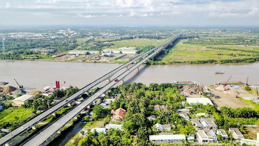 Hệ thống hạ tầng giao thông tại Long An