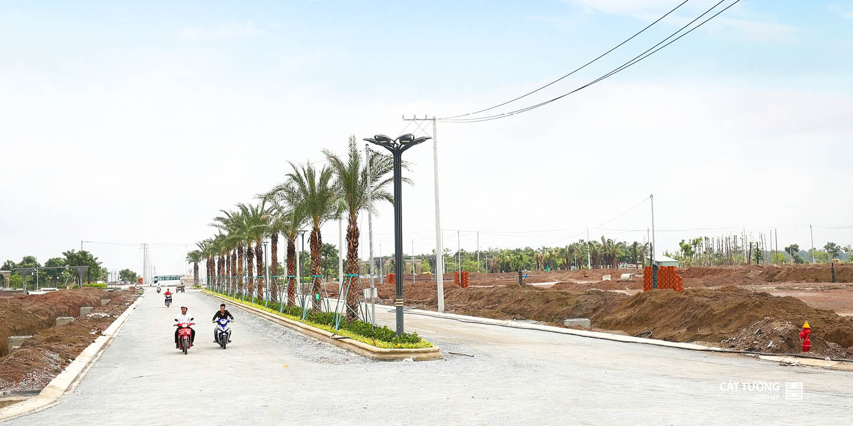 thực tế tại dự án Cát Tường Phú Hưng
