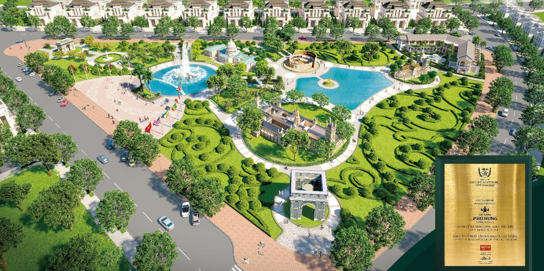 Cát Tường Phú Hưng đạt giải Dự án có hạ tầng tiêu biểu 2020
