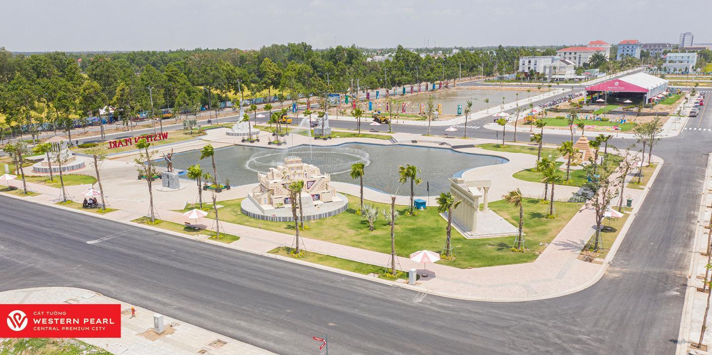 Cát Tường Western Pearl công viên cây xanh
