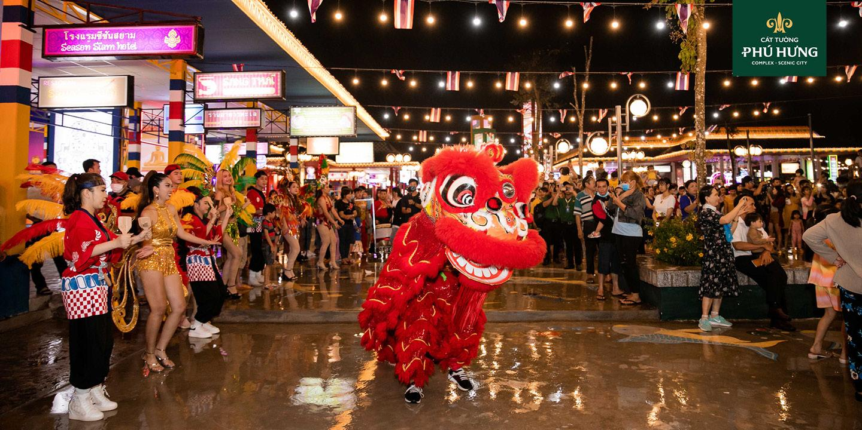 Khu kinh tế đêm Phú Thiên Kim